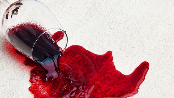 How to Clean a Red Wine Stain